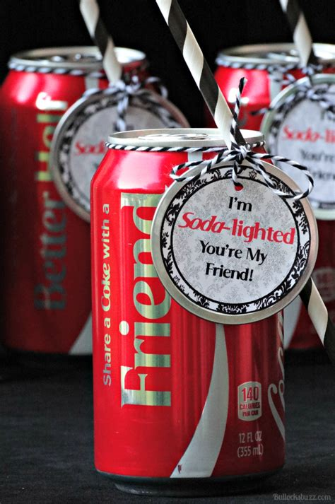 Share a Coke and a Smile + I'm Soda-Lighted You're My