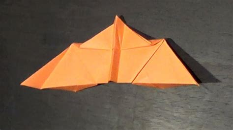 Paper Airplane Flying Bat Tutorial - How to make a bat