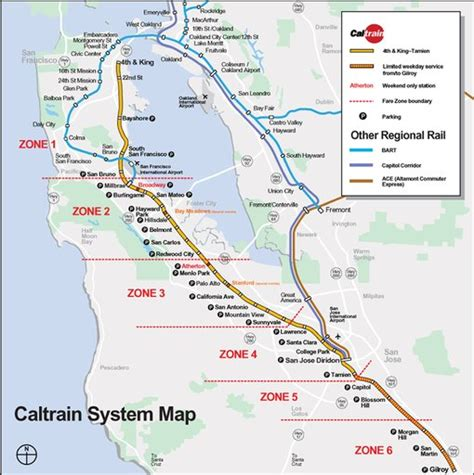 CalTrain System Map - Maplets
