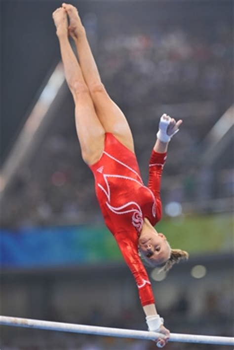 USA Gymnastics | Liukin competes Monday in uneven bars