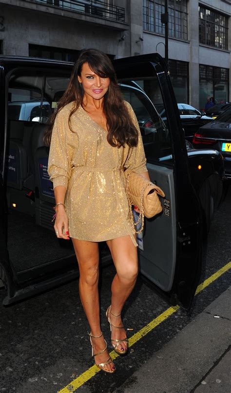Lizzie Cundy Outfit Ideas - Arrives at GQ Food & Drink