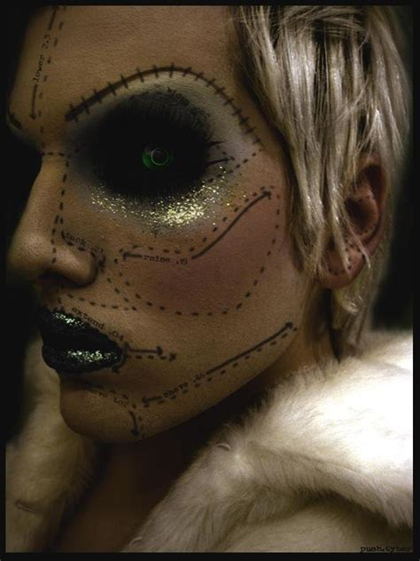 Still, even way back then, it was all about the makeup for