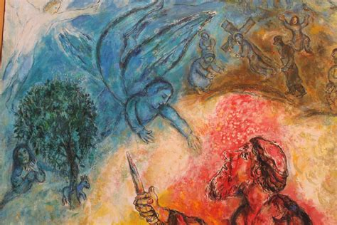 a guided tour of the Chagall museum in Nice