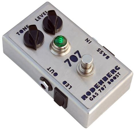 Rodenberg GAS-707 Boost   Effects Database