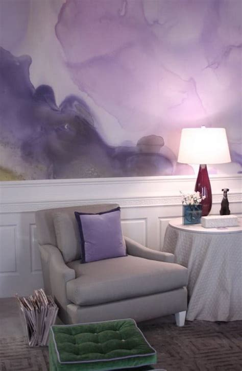 Painting Your Walls With Watercolors - 25 Ideas