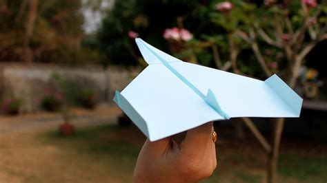 How to make Paper Plane that fly far   Origami Plane
